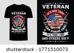 vetern it's not that i can... | Shutterstock .eps vector #1771510073