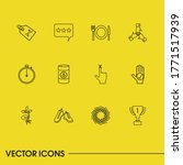 pack icons set with sale  swirl ...