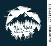 adventure mountain hike...   Shutterstock .eps vector #1771544843