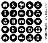 black health medical icon pack...   Shutterstock .eps vector #1771562270