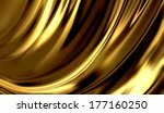 liquid gold    abstract design... | Shutterstock . vector #177160250