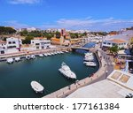 view of the old port of... | Shutterstock . vector #177161384