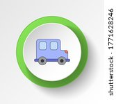 cartoon toy car colored button...