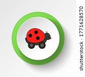 cartoon bug lady toy colored...