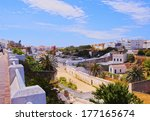 view of ciutadella on menorca ... | Shutterstock . vector #177165674