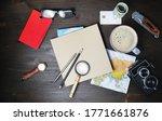 preparation for travel. trip...   Shutterstock . vector #1771661876