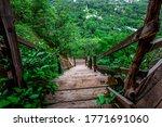 Background Of Wooden Walkways ...