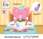 Alphabet.e Letter.eraser Eight...