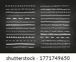 marker hand drawn vector line... | Shutterstock .eps vector #1771749650