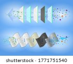 set of n95 or kn95 surgical... | Shutterstock .eps vector #1771751540