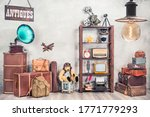 Vintage Travel Suitcases ...