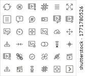 premium set of ui line icons....   Shutterstock .eps vector #1771780526