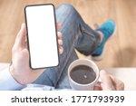 cell phone mockup. mockup image ...