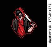 bad boy mascot gaming esport... | Shutterstock .eps vector #1771846976