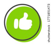 the thumbs up icon vector... | Shutterstock .eps vector #1771851473