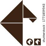 Minimalist Horse Logo Using...