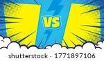 versus vs letters fight... | Shutterstock .eps vector #1771897106