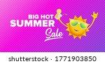 summer sale horizontal web... | Shutterstock .eps vector #1771903850