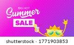 summer sale horizontal web... | Shutterstock .eps vector #1771903853