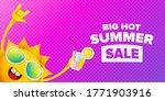 summer sale horizontal web... | Shutterstock .eps vector #1771903916