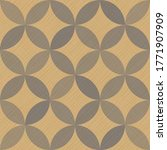 interlacing circles parts... | Shutterstock .eps vector #1771907909