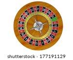 casino roulette   3d | Shutterstock . vector #177191129