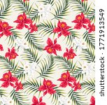tropical vector image patterns... | Shutterstock .eps vector #1771913549