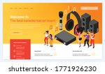 isometric karaoke website...