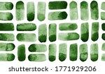 dark  pine green watercolor... | Shutterstock .eps vector #1771929206