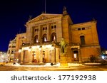 National Theatre In Oslo At...