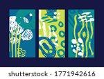 modern trendy hand drawn...   Shutterstock .eps vector #1771942616