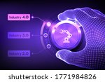 smart industry 4.0 concept.... | Shutterstock .eps vector #1771984826
