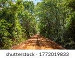 A Dirt Road In Southeastern...