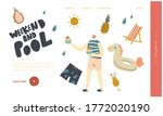 resort  night club recreation ... | Shutterstock .eps vector #1772020190