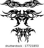 tribal tattoos | Shutterstock .eps vector #17721853
