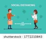 vector concept of social...   Shutterstock .eps vector #1772210843