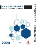 this is an annual report's... | Shutterstock .eps vector #1772228273