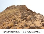 Rare Rock Formation In Arid...