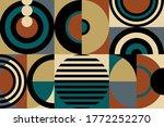 Abstract Geometric Pattern...