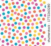 colorful confetti  seamless... | Shutterstock .eps vector #1772263280