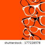 pattern retro hipster...   Shutterstock .eps vector #177228578