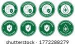 coronavirus covid 19 free zone  ... | Shutterstock .eps vector #1772288279
