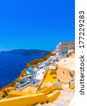View To The Sea From Oia The...