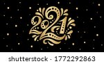 happy new year 2021. the logo... | Shutterstock .eps vector #1772292863