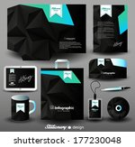 stationery design  identity... | Shutterstock .eps vector #177230048