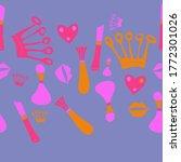 horizontal arrangement  set ... | Shutterstock . vector #1772301026
