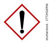 attention danger or hazard... | Shutterstock .eps vector #1772426906