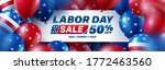 Usa Labor Day Sale Poster...