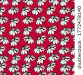 seamless pattern with... | Shutterstock .eps vector #1772478140