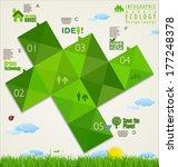 ecology infographic design... | Shutterstock .eps vector #177248378